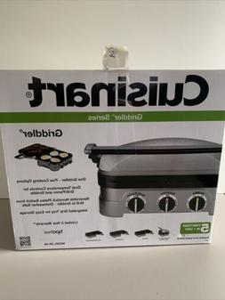 Cuisinart GR-4N 5-in1 Griddler Contact Grill, Brushed Stainl