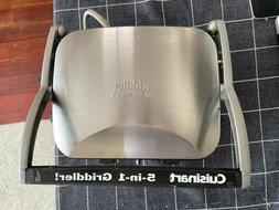 Cuisinart GR-4N 5-in-1 Grill Griddler Panini Maker Set