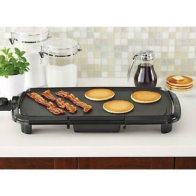 """20"""" Grill Griddle Electric Non Stick Flat Top Indoor Counter"""