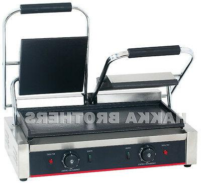 Hakka Commercial Panini Press Grill and Sandwich Griddler TC
