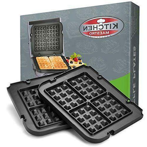 Black Nonstick made for GR-4N and GRID-8N Series Dishwasher Safe ...