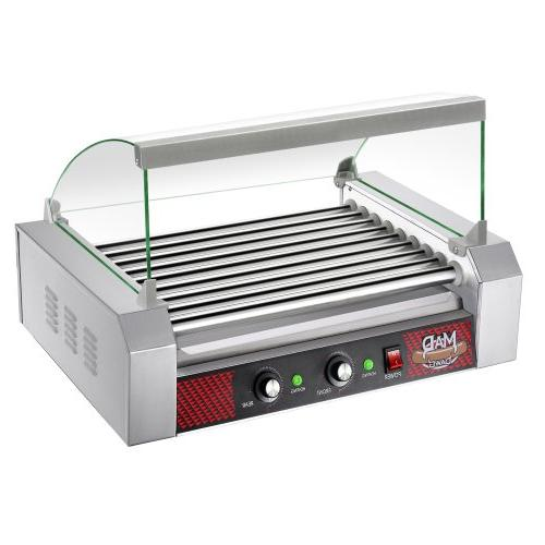 Great Northern Commercial Quality 24 Hot Dog 9 Roller Grilli