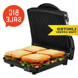 Kealive Panini Press, Gourmet Sandwich Maker Grill 1200W, El