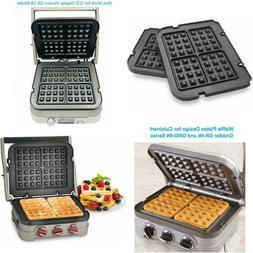 Waffle Plates for Cuisinart Griddler GR-4N, GR-5B, GR-6 and